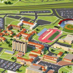 Interactive Campus Map Texas Tech Virtual Campus Experience